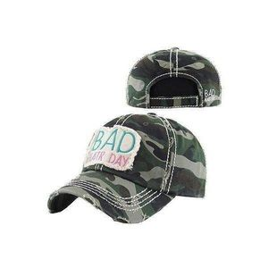 Accessories - Bad hair day camouflage baseball hat